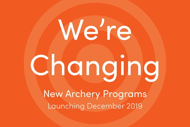 New Archery Program We're Changing
