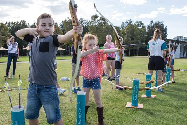 Sharp Shooters School Holiday Archery