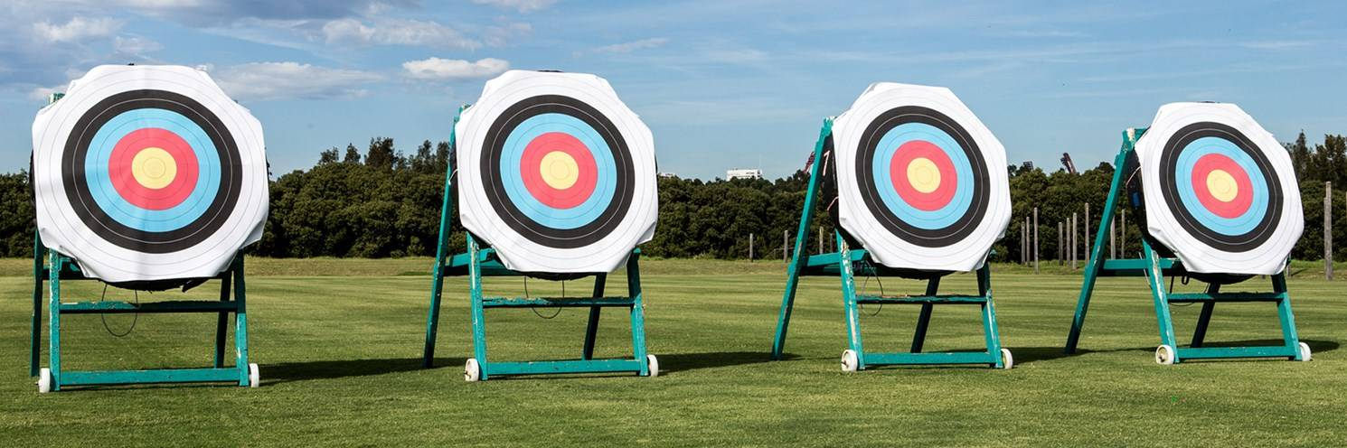 2015 - Archery Centre - Targets - Photograph by Rick Stevens