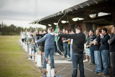 Sydney Olympic Park - Archery - Photography by Hamilton Lund